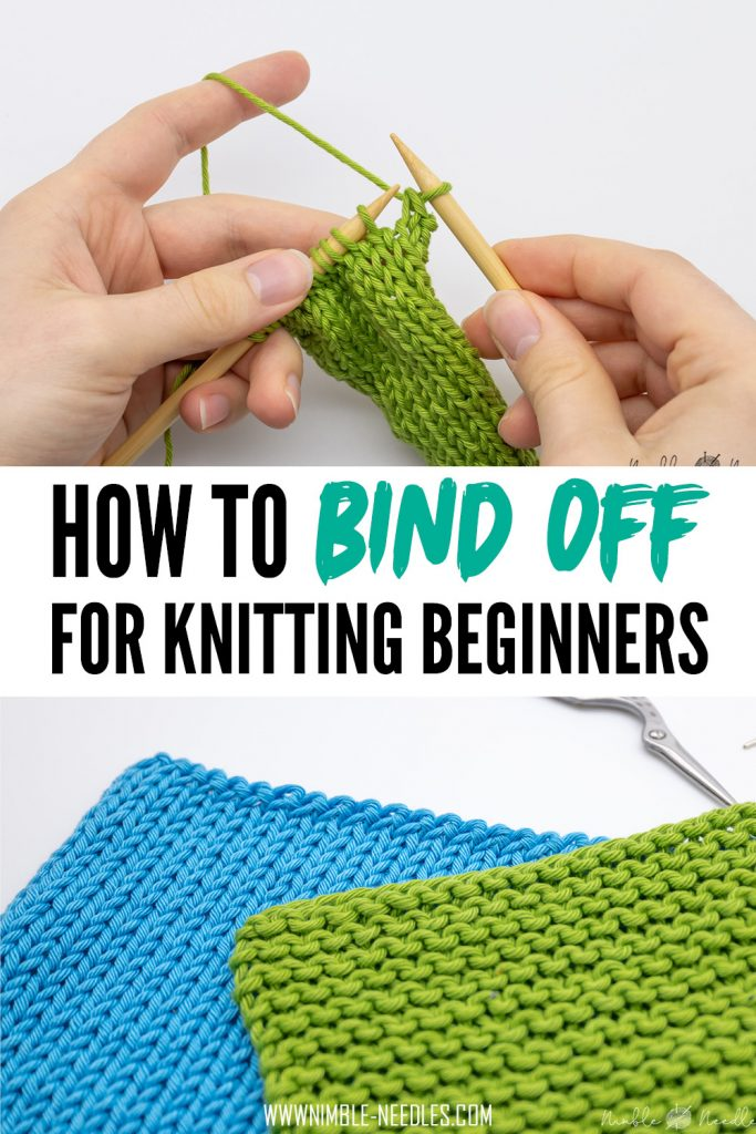 how to bind of knitting for beginners
