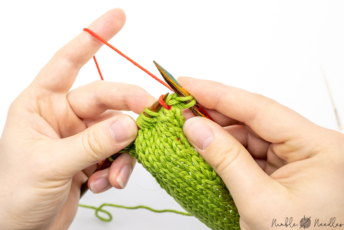 lift the stitch 2 rows below on your left needle for the kll increase