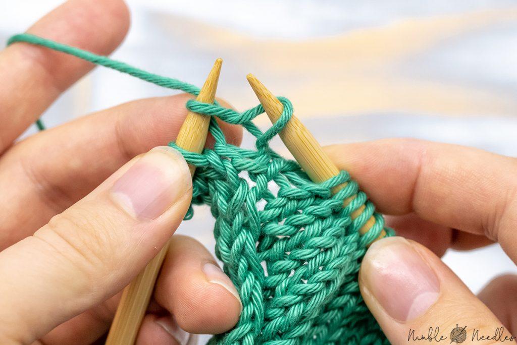 kit one for knit front slip back