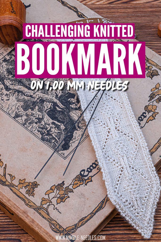bookmark knitting pattern