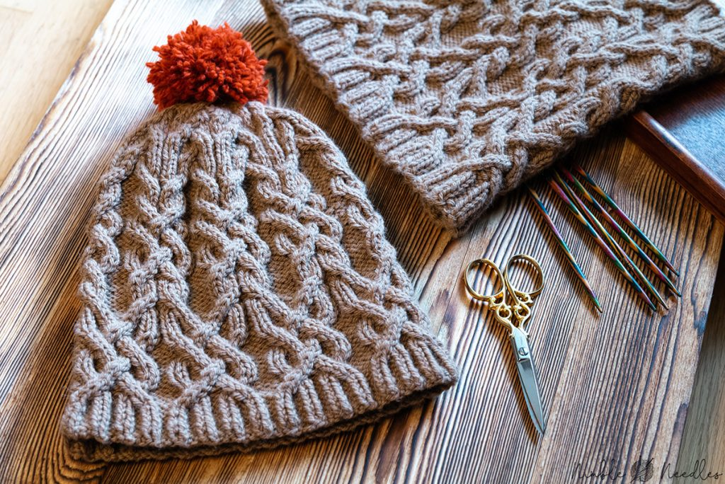 Free cable knit hat pattern: Into the wild [pdf with ...