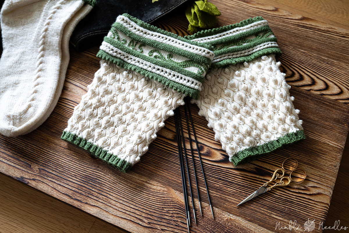bavarian half socks and liners