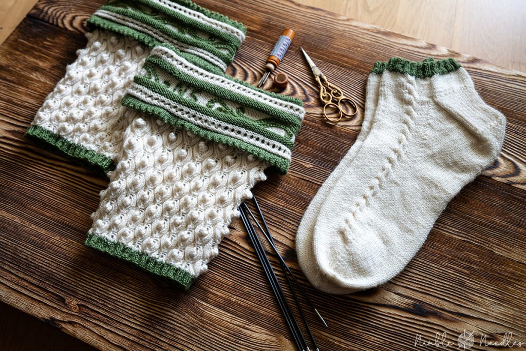 traditional bavarian socks for men and matching liners