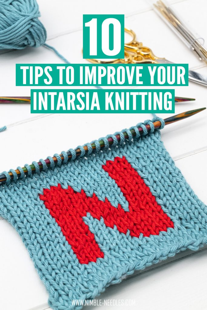 advanced intarsia knitting - 10 tips and tricks