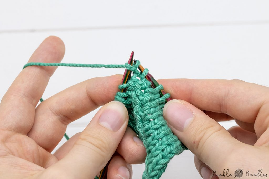then knit into the back loop like a normal kfb