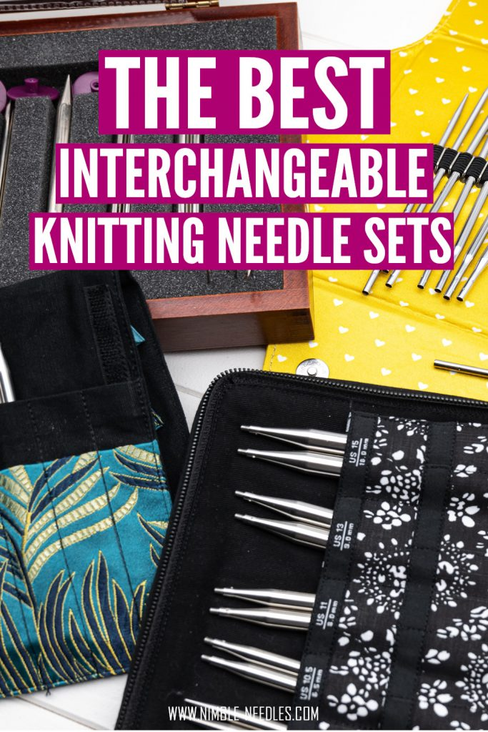 the best interchangeable knitting needles sets