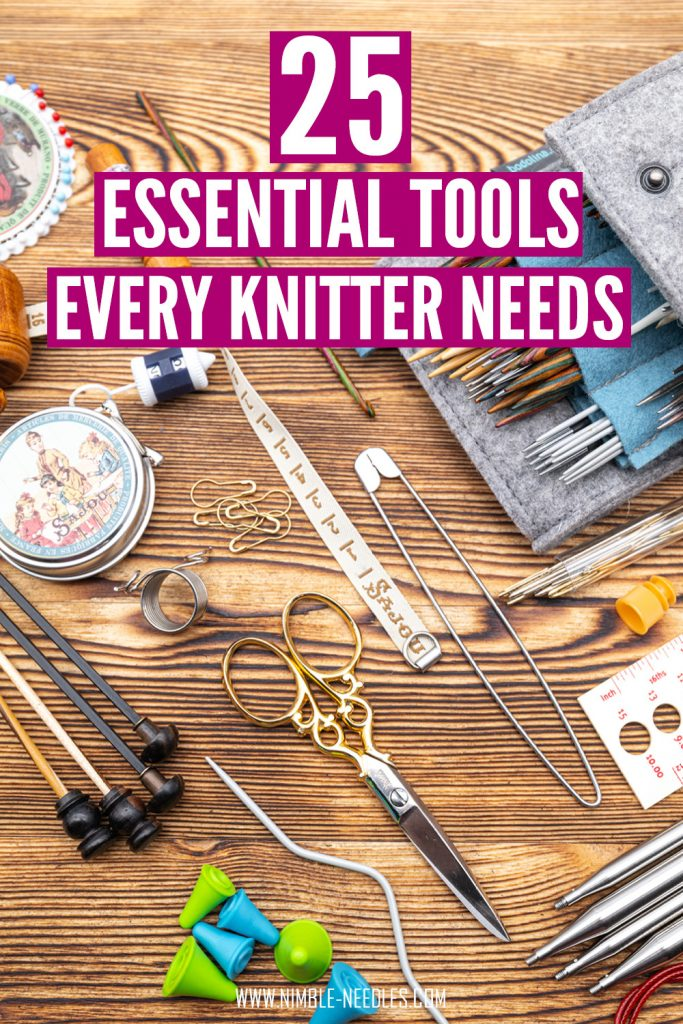 25 essential knitting tools and materials every knitter needs
