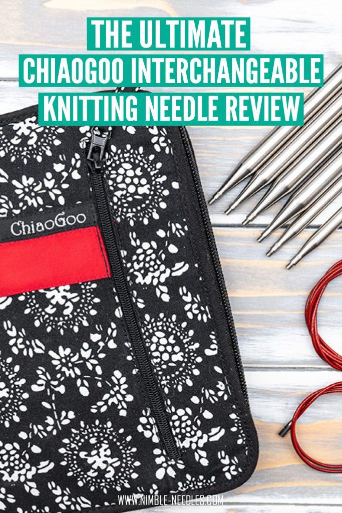 chiaogoo interchangeable knitting needle review