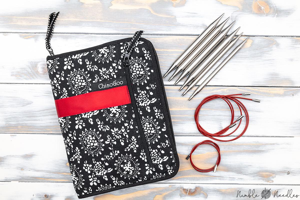 chiaogoo interchangeable knitting needle set