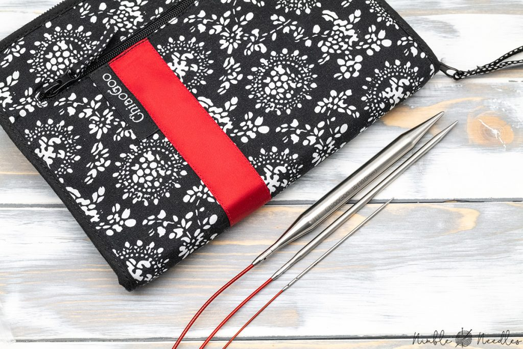 chiaogoo interchangeable knitting needles in large, small and mini