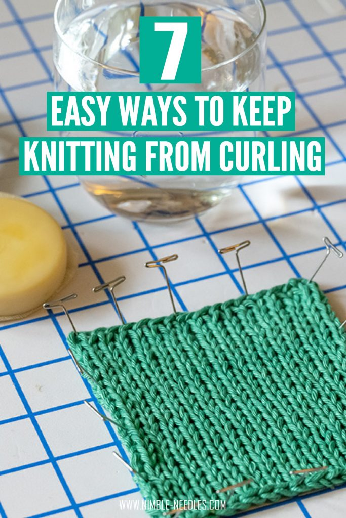 7 different ways to keep knitting from curling at the edges