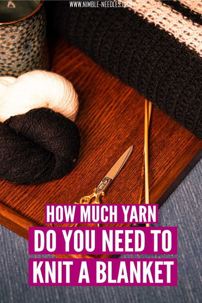 how much yarn for a blanket
