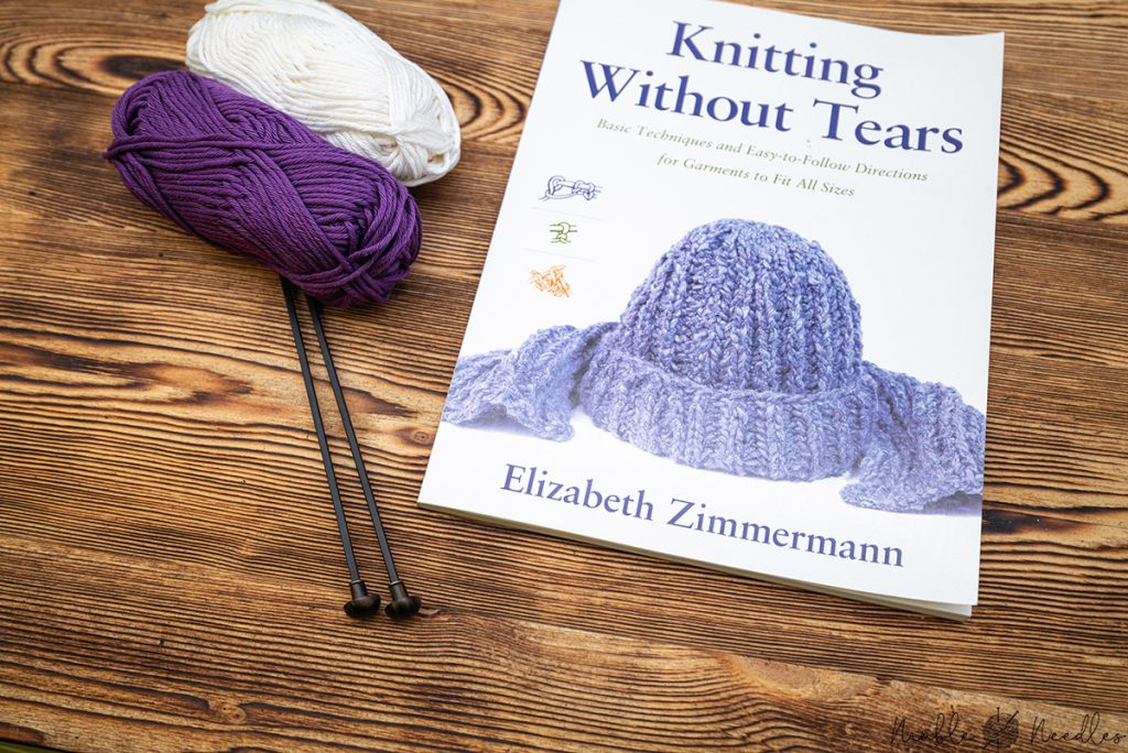 knitting without tears by elizabeth zimmerman - one of the best books for beginners
