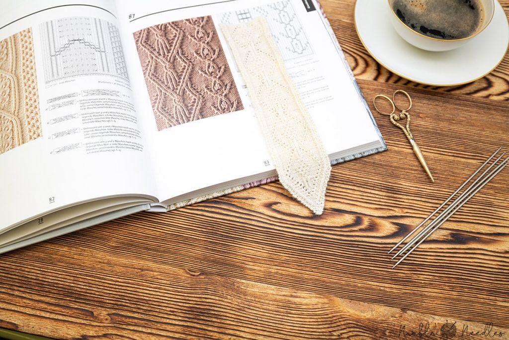 reviewing the japanese knitting stitch bible by hitomi shida