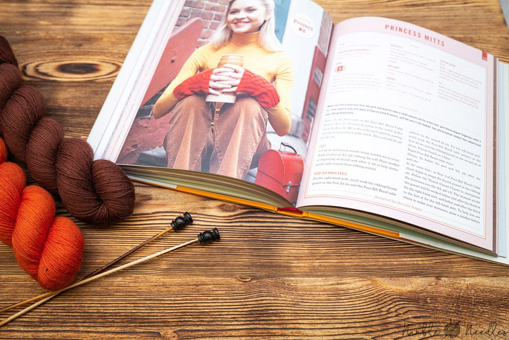 reviewing the knitter's book of yarn by clara parkes - especially the knitting patterns