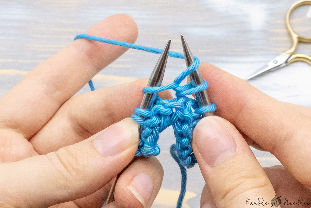 adding a yarn over in the middle