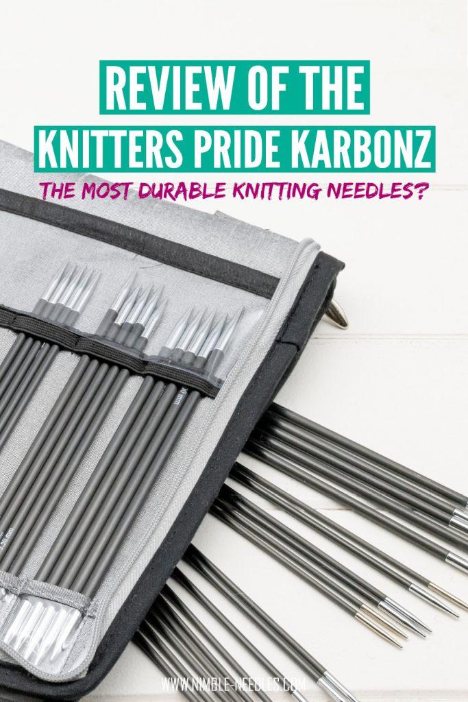 knitters pride karbonz knitting needles review
