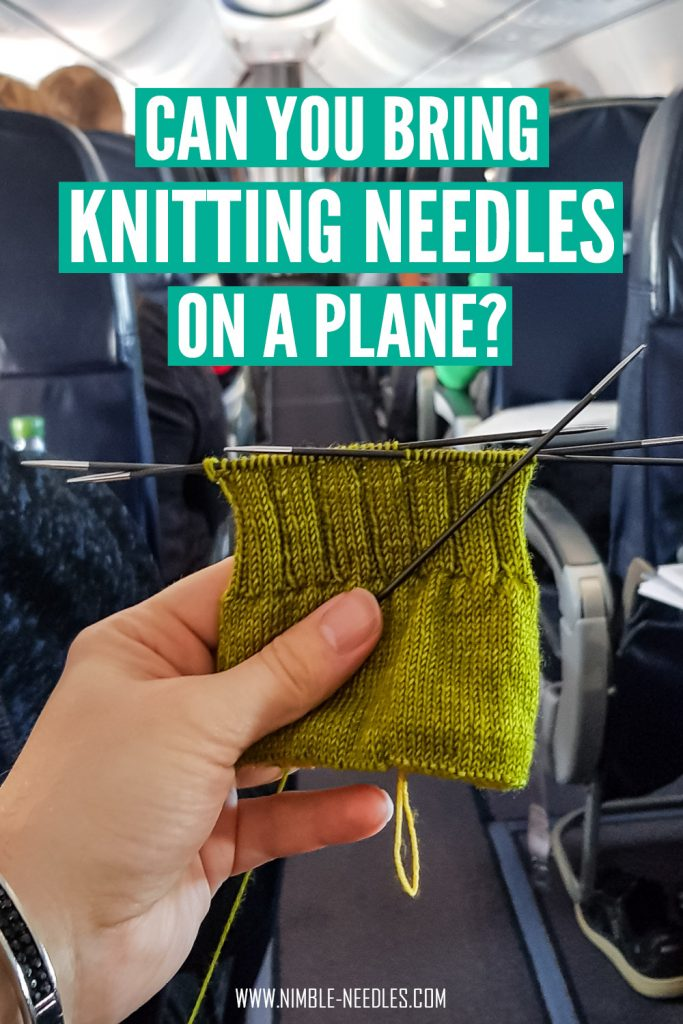 Can you bring knitting needles on a plane? All the answers you need to know