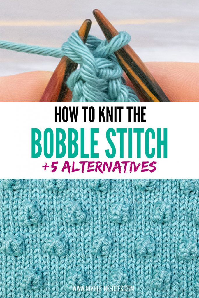 how to knit the bobble stitch
