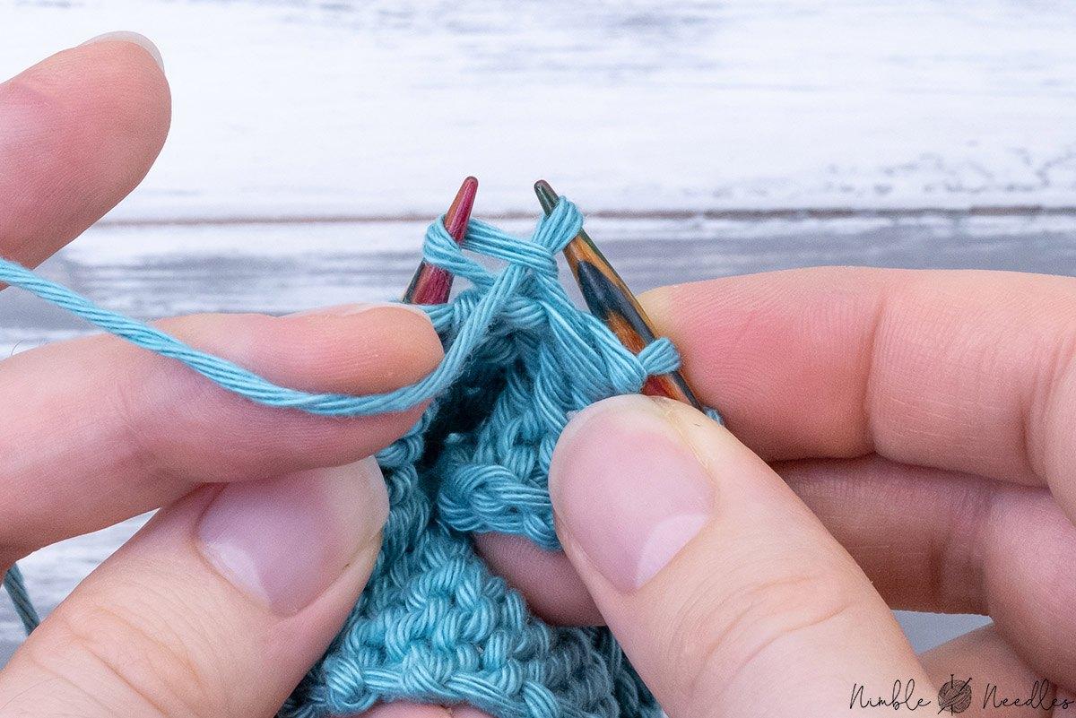 knitting a kfb knitting increase