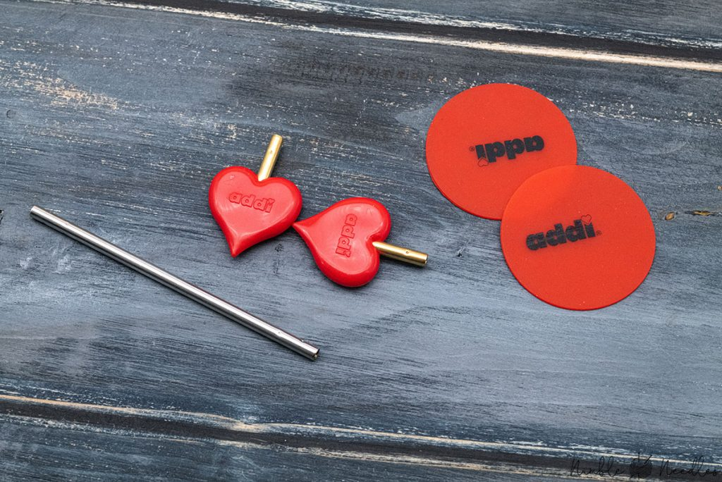 addi click accessories - needle stoppers, connectors and grippers