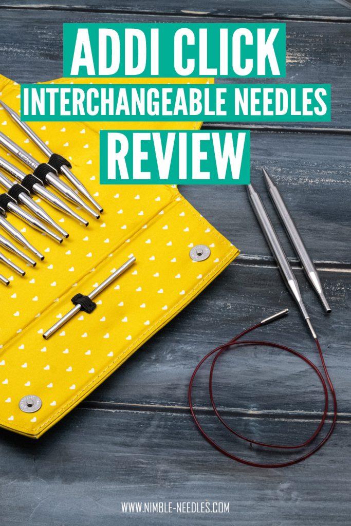 an addi interchangeable knitting needle review