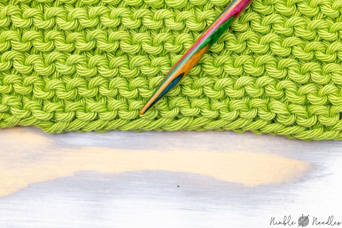 cast on edge garter stitch