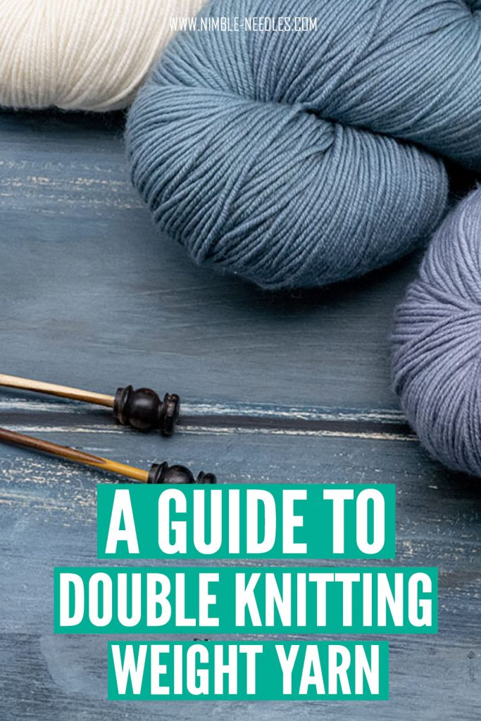a guide to double knitting weight yarn. everything you need to know and how many ply it is