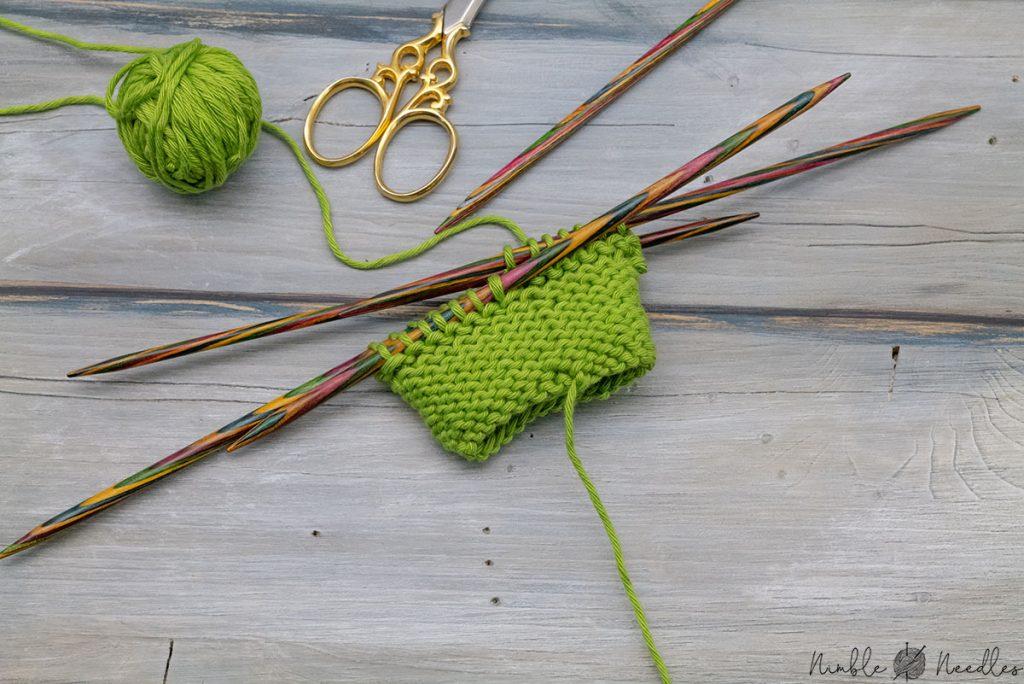 knitting the wrong side for some easer knitting