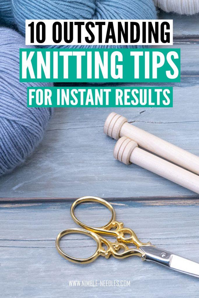 10 knitting tips for better results