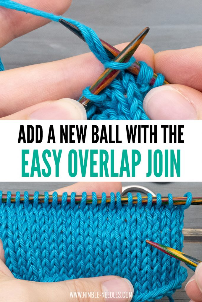 how to add a new ball with the overlap join - a simple joining method for beginners