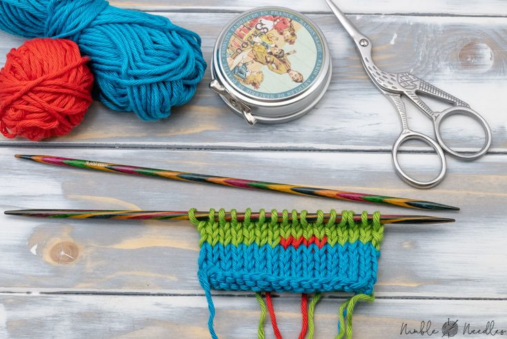 how to change colors with twist and weave