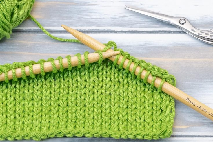 How to knit for beginners - step-by-step